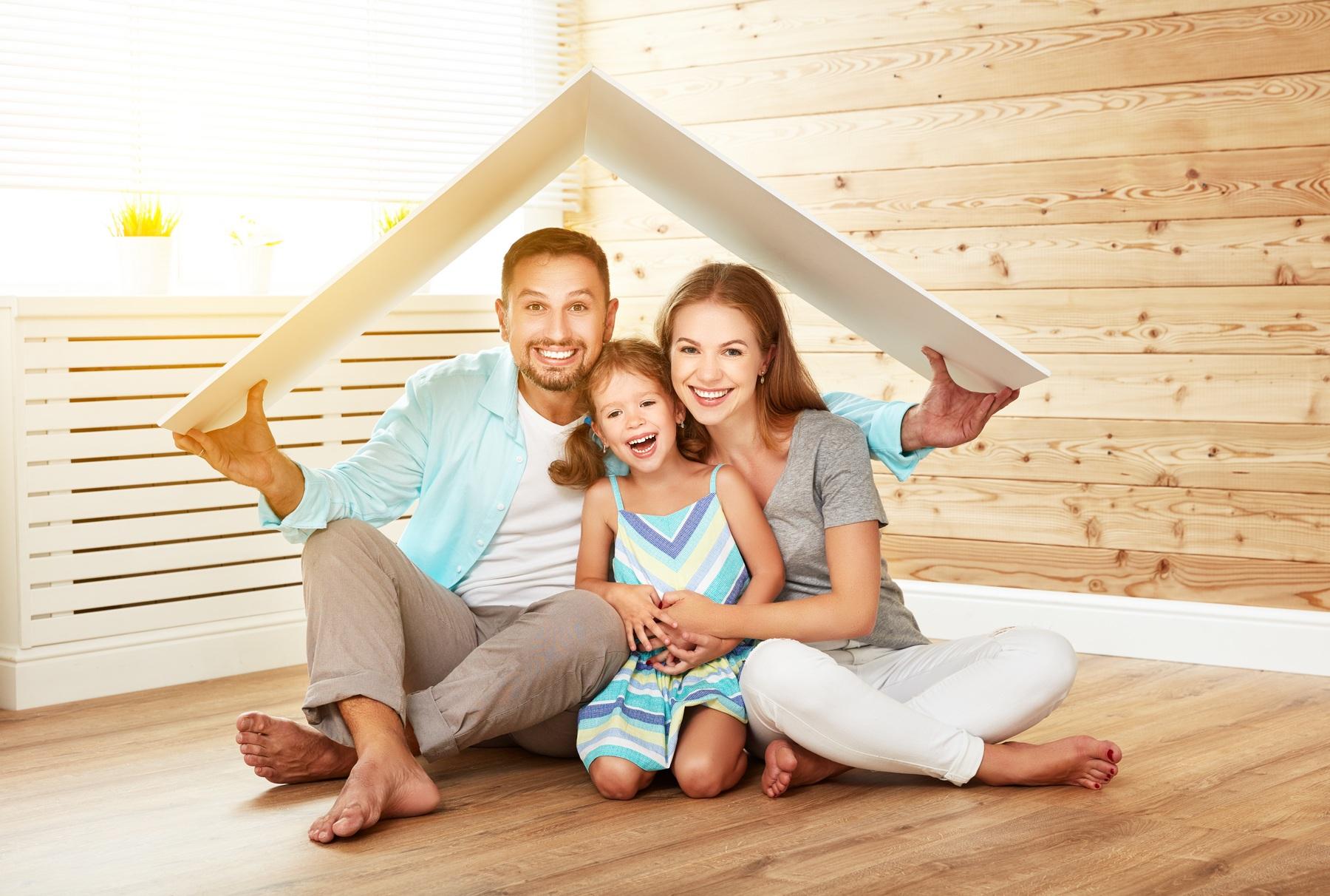 Картинка дом семья счастье